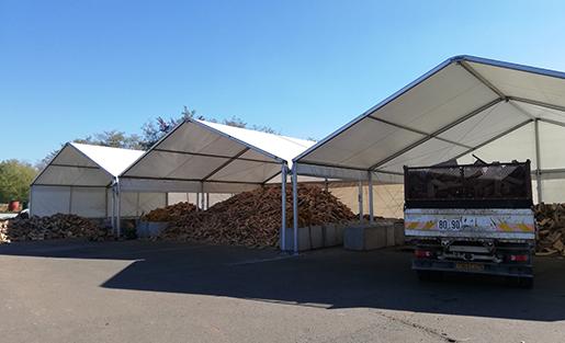 Notre site de Réguisheim pour la production de bois de chauffage dans le Territoire de Belfort 90