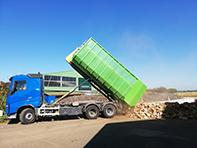 Dépôt du bois sec